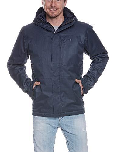 Tatonka Herren Jonno M's Hooded Jacket Jacke, matt Blue, XXL