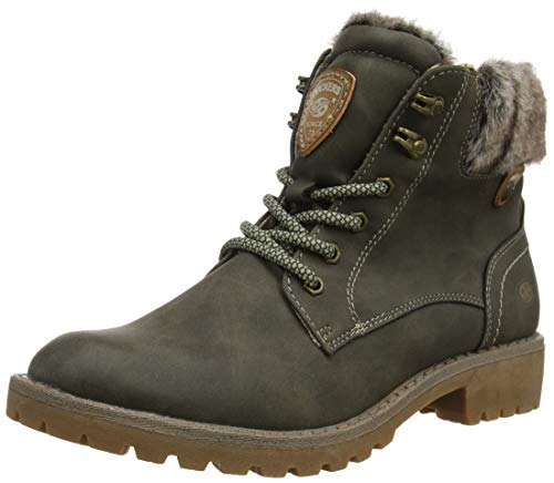 Dockers by Gerli Jaylilal Ankle Boots/Boots Women Grey - 6.5 - Mid Boots Shoes