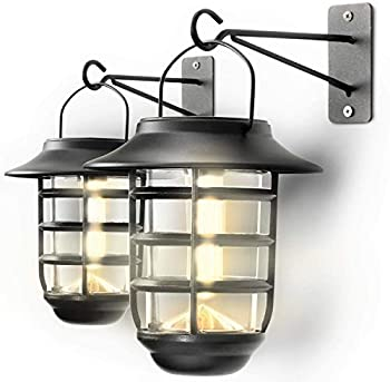 Home Zone Security Solar Wall Lantern Lights