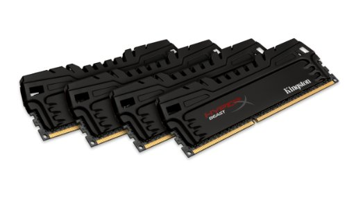 Kingston Beast series XMP KHX24C11T3K4/16X Arbeitsspeicher 16GB (2400MHz, CL11, 4x 4GB) DDR3-RAM Kit