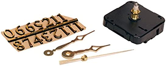 Walnut Hollow 3 Piece Clock Kit for 1/4-inch Surfaces, Use to Repair or Design your Own Clock