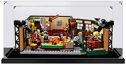 ZHLY Vitrine Schaukasten Für Lego Friends Central Perk Café Display Case Acryl Schaukasten für Lego 21319 (Nicht Enthalten Lego Modell)
