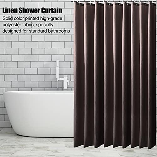 Ichiias Cortina de Ducha portátil, Cortina de Ducha de Tela, Puestos para duchas de baño Bañeras caseras(200 * 180CM)