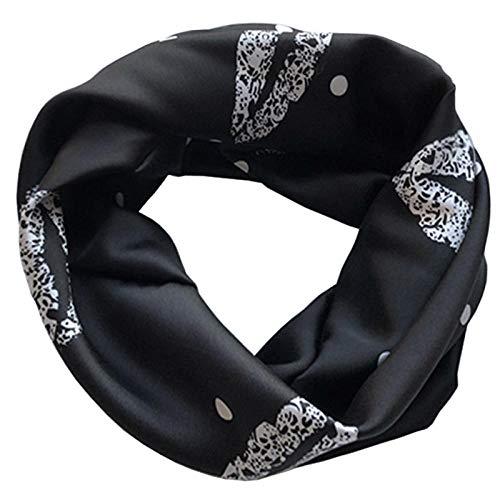 Dames Hoofdbanden Haarbanden Satijn zwarte hoofddoek sjaal casual bijpassende cover wit haar haaraccessoires