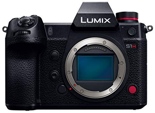 パナソニックフルサイズミラーレス一眼カメラルミックスS1Hボディ2420万画素ブラックDC-S1H-K