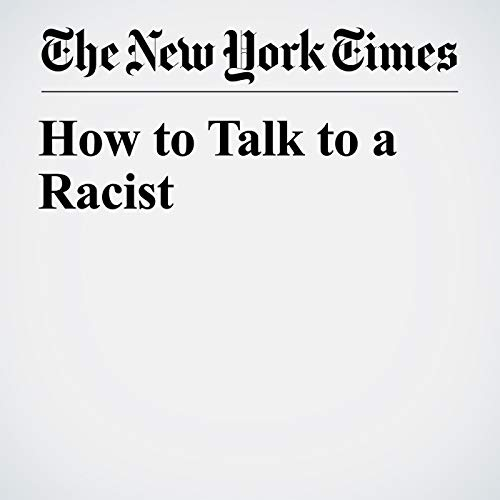 How to Talk to a Racist copertina