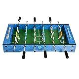 CHENSHJI El Compacto De Escritorio Mesa De Mini Fútbol Juego De Fútbol De Local For 2-4 Personas Mini Table Football Game (Color : Blue, Size : 69x37x10cm)