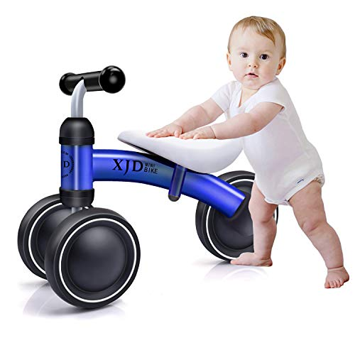 YUFU Baby Balance Bikes 10 Month -24 Months Bicycle Children Walker 1 Year Old Best Cycling Gifts Blue