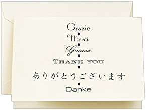 product image for Crane & Co. Multi-lingual Thank You Note (CT1415)