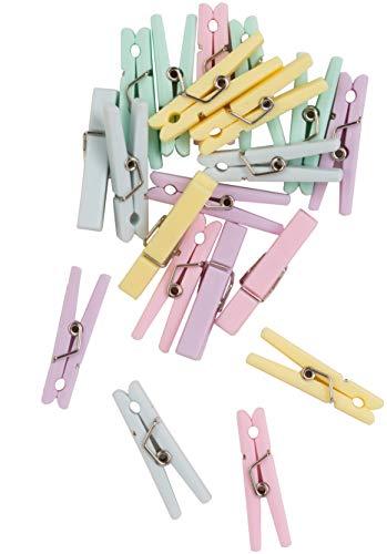 Wilton Lot de 20 Mini Pinces à Linge