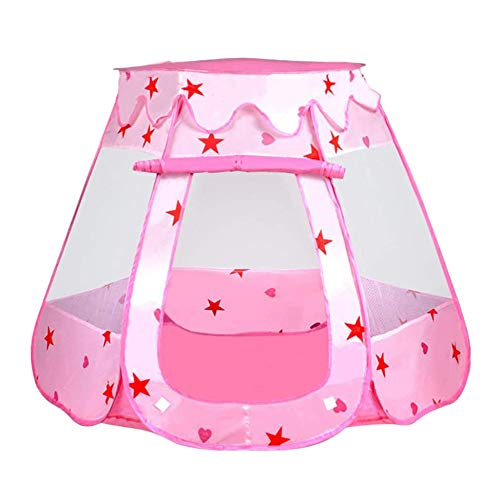 YanYun Ocean Ball Pool Princess House Foldable Game House Six-Sided Tent Indoor and Outdoor House Children's Tent Toys