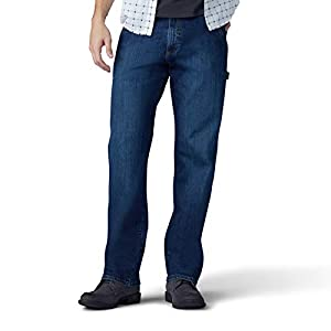 Lee Men's Performance Series Extreme Motion Loose Fit Carpenter Jean