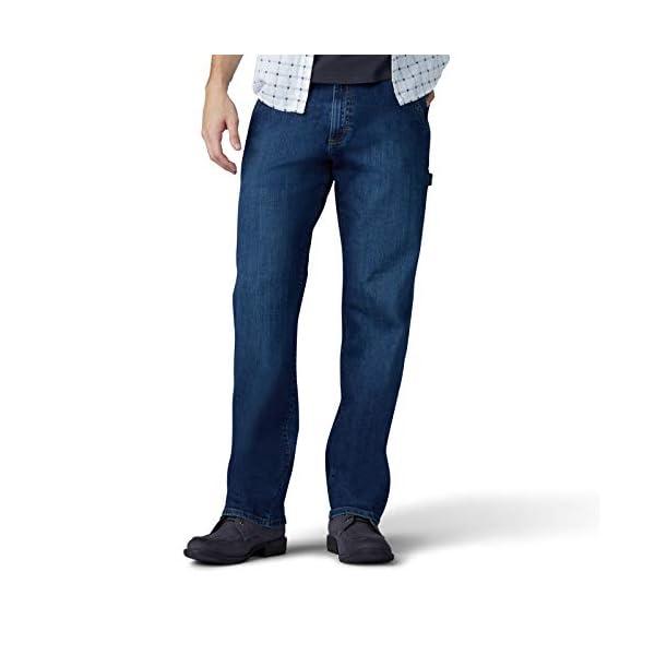Lee Uniforms Men's Performance Series Extreme Motion Loose Fit Carpenter Jean