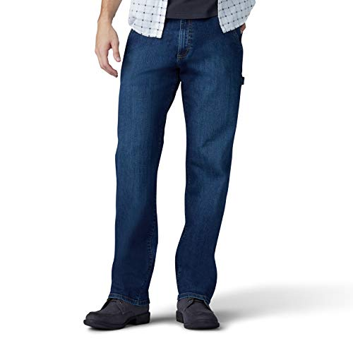 LEE Men's Performance Series Extreme Motion Loose Fit Carpenter Jean, gus, 36W x 32L