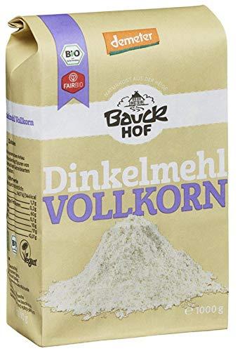 Bauckhof Bio Bauck Dinkelmehl Vollkorn (6 x 1000 gr)