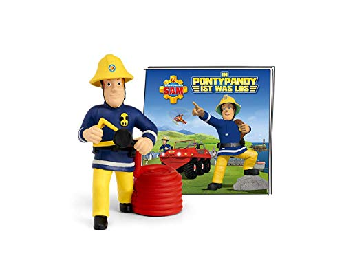 tonies Hörfiguren für Toniebox: FEUERWEHRMAN SAM In Pontypandy ist was los Figur - ca 60 Min. Spieldauer - ab 3 Jahre - DEUTSCH