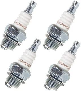 Champion DJ8J Pack of 4 Copper Plus Small Engine Spark Plug Stock #847