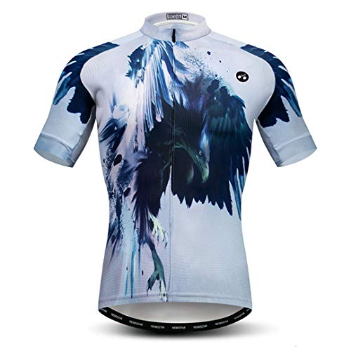 Camisa de Ciclismo de Verano Camisa de Manga Corta para Hombres Ropa de Bicicleta de montaña Maillot Seco rápido MTB Ropa de Bicicleta Model 3 M