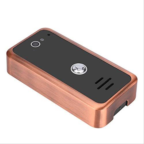 Video Doorbell Video Intercom 9 Zoll Monitor App Fernbedienung WiFi Wireless Video Tür Tür Türklingel Kamera Intercom System GFK