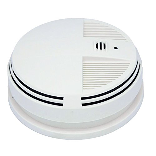 Fantastic Deal! SPY Gadgets | Spy Camera Indoor Home Surveillance DVR Bottom View Smoke Detector wit...