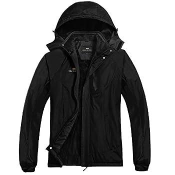Men s Waterproof Ski Jacket Snow Coat Windproof Mountain Jackets with Hooded