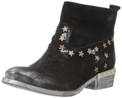 Fornarina Damen Rydge Cowboy Stiefel, Schwarz (Black 0000), 37 EU