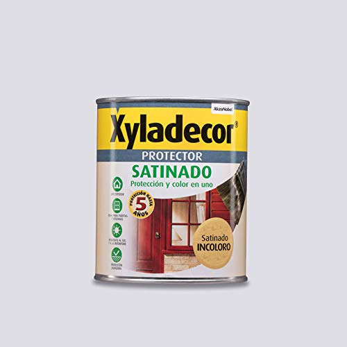 Xyladecor Protector para madera Satinado Incoloro 750 ml