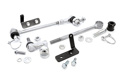 """Rough Country Front Sway Bar Disconnects (fits) 1984-2001 Jeep Cherokee XJ / 93-98 ZJ / 86-92 MJ 