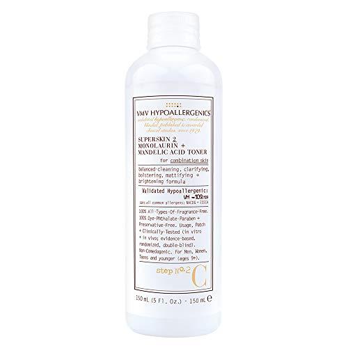 VMV Hypoallergenics 5 oz SuperSkin 2 Monolaurin + Mandelic Acid Toner