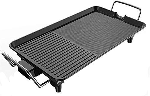 TAIDENG 1500W / 220V Non Stick Electric BBQ Grill Tabla de Plancha...