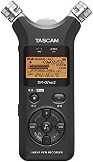 TASCAM リニアPCMレコーダー DR-07MK2-JJ