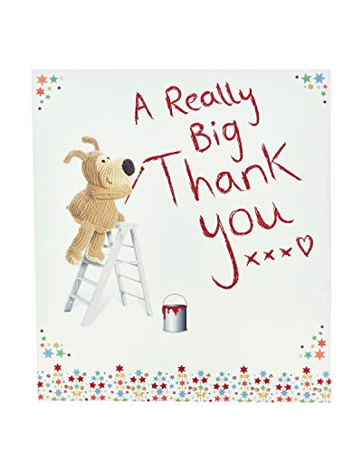 Boofle - Tarjeta de agradecimiento (tamaño grande)