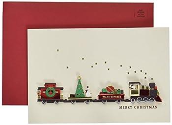 Hallmark Signature Christmas Card  Christmas Train   0699XXH2005