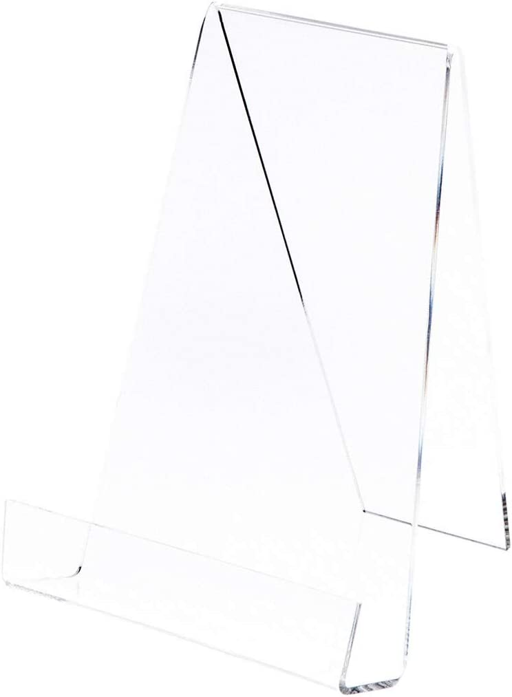 Plymor Clear famous Our shop most popular Acrylic Book Easel with 1.875