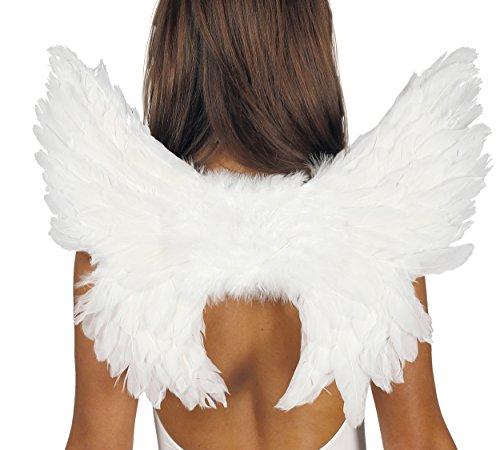 Guirca- Alas ángel plumas, Talla única (17368.0)