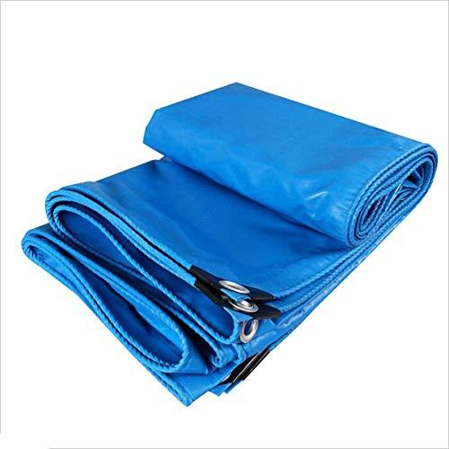 LIANGJUN Bâche De Protection PVC Tissu De Couverture Fournitures De Jardinage en Tissu Parasol Isolé , 480g / M² , Plusieurs Tailles,Bleu (Couleur : #, Taille : 4.8X5.8m)