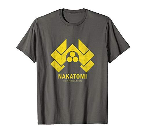 Die Hard Nakatomi Logo Yellow T-Shirt