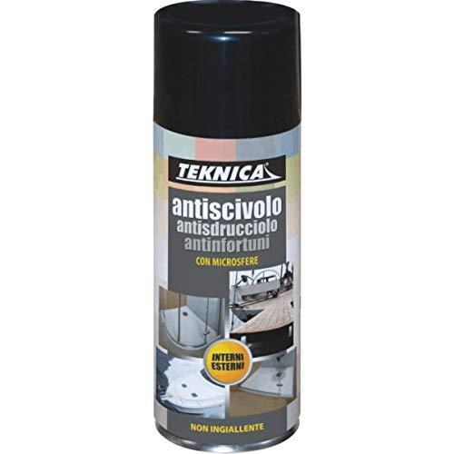 Bomboletta vernice Spray ANTISCIVOLO TRASPARENTE 400ml TEKNICA 01-0055
