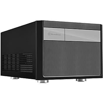 Silverstone Tek Micro-ATX Mini-DTX Mini-ITX Small Form Factor Computer Case Compatible with ATX PSU Cases SG11B