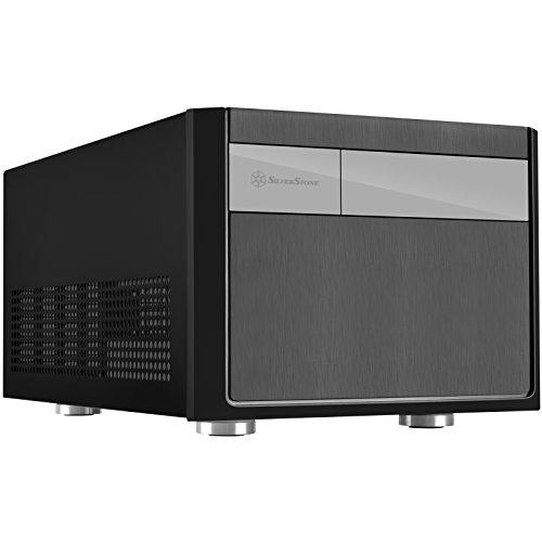 SilverStone SST-SG11B - Sugo Boîtier PC cube Micro ATX, noir