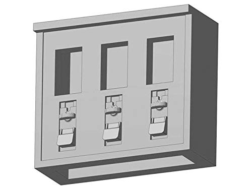 modellbahn-exklusiv Kaugummiautomat 3 Fächer, Spur 0, 1:45