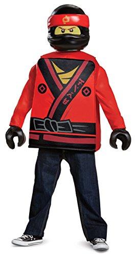 LEGO Ninjago Film 23480l Kai Classic Kostüm, 4-6Jahre