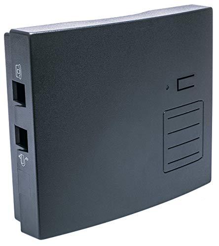 distybox 300 Telefonadapter universal Adapter für analoge schnurgebundene Telefone Fax Multifunktionsgeräte an DECT/Gap Basisstationen oder Router