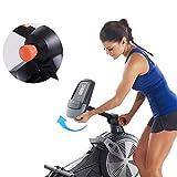 JHSHENGSHI Rudergeräte Rudergerät Luftwiderstand magnetische Steuerung Rudergerät zu Hause Indoor-Fitness-Bahre - 4