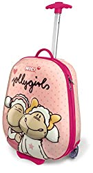 Nici children's trolley Jolly mäh children luggage, 19.0 liter, pink