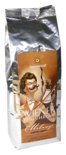 Sonnentor Melange ganze Bohne Wiener Verführung, 1er Pack (1 x 500 g) - Bio