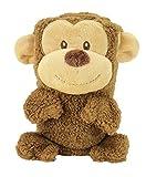 My Pet Blankie   Original Size   Ultra-Soft 3-in-1 Fleece Blanket   Brown Monkey   Machine Washable   by Animal Adventure