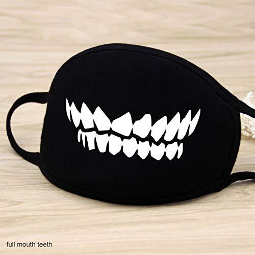 1 Stk. 12 Style Baumwollmasken Warm halten Cartoon Schöne Gesichtsmundmaske Tarnung Mund Muffel Atemschutzmaske Unisex China Vollmundzähne