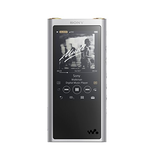 Sony NWZX300/S Walkman with High-Resolution Audio,Silver