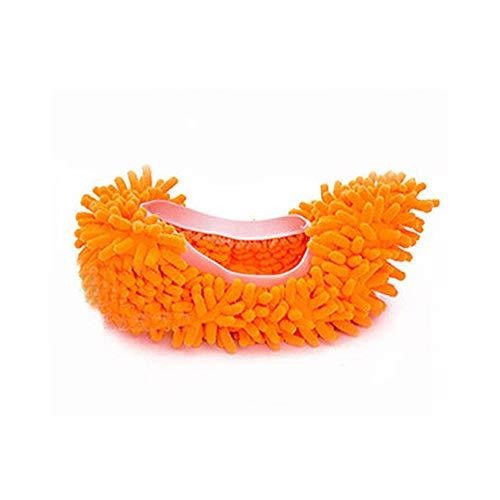 Yize - 1 par (2 Piezas) Unisex Lavables para Limpiar el Polvo Zapatos de Microfibra para Limpiar el hogar, Cocina,...
